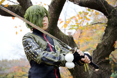 Cosplay young japanese girls Royalty Free Stock Images