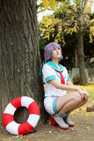 Cosplay young japanese girls Royalty Free Stock Photo