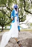 Cosplay young japanese girls Stock Image