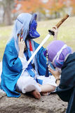Cosplay young japanese girls Stock Photos