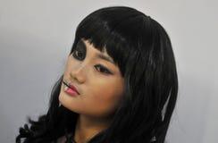 Cosplayconcurrentie in Indonesië Royalty-vrije Stock Afbeelding