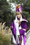cosplayer ιαπωνικές νεολαίες Στοκ φωτογραφία με δικαίωμα ελεύθερης χρήσης