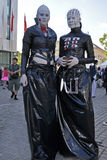 cosplayer σουηδικές νεολαίες Στοκ Εικόνες