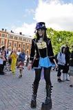 cosplayer σουηδικές νεολαίες Στοκ Φωτογραφία