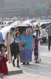 COSPLAYER στο Comiday16 Anime Festiva Στοκ Φωτογραφίες