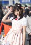 COSPLAYER στο Comiday16 Anime Festiva Στοκ φωτογραφίες με δικαίωμα ελεύθερης χρήσης