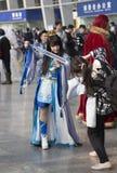 COSPLAYER στο Comiday16 Anime Festiva Στοκ Εικόνα