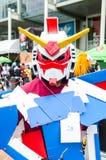 Cosplayer ως ρομπότ Gundum χαρακτήρων στον κόσμο Cosplay φανταστικά 7 Oishi Στοκ Εικόνες