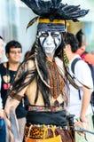 Cosplayer als karakters van de Eenzame Boswachtersfilm in Japan Festa in Bangkok 2013. Royalty-vrije Stock Afbeeldingen