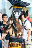 Cosplayer as characters from The Lone Ranger Movie in Japan Festa in Bangkok 2013. Royalty Free Stock Images