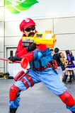 Cosplayer as characters Mario Nintendo's Game. Stock Photography