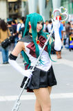 Cosplayer as characters from Sailor Moon in Japan Festa in Bangkok 2013. Stock Image