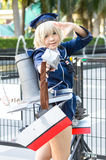 Cosplayer as characters Z1 Leberecht Maass from Kantal Collection. Stock Photography