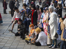 COSPLAYER  in The Comiday16 Anime Festiva Stock Photo