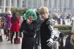 COSPLAYER  in The Comiday16 Anime Festiva Royalty Free Stock Photos
