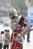 COSPLAYER  in The Comiday16 Anime Festiva Royalty Free Stock Images