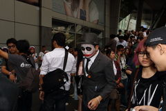 Cosplayer de défilé à Bangkok Photos libres de droits