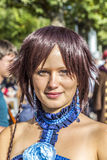 Cosplayer an der Frankfurt-Buch-Messe 2014 Lizenzfreies Stockbild