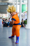 Cosplayer from Dragonball Z Stock Photos