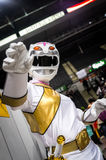 Cosplayer dressed as a character from `Wild Force Power Rangers` Stock Photo