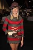 Cosplayer em Long Beach cómica e em engodo do horror, centro de convenção de Long Beach, Long Beach, CA 10-30-11 Fotos de Stock