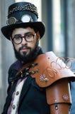Cosplayer en los tebeos 2016 de Lucca Fotografía de archivo libre de regalías