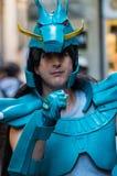 Cosplayer en los tebeos 2016 de Lucca Imágenes de archivo libres de regalías