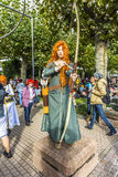 Cosplayer at the Frankfurt Book Fair 2014 Stock Images