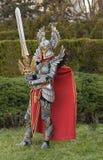 Cosplayer kleedde zich als Voorvechter van het karaktertoevluchtsoord Royalty-vrije Stock Afbeeldingen