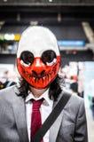 Cosplayer kleedde zich als `-Wolf ` van de `-reeks van het Betaaldag` videospelletje Stock Foto