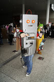 Cosplayer no evento de Cosplay Imagem de Stock Royalty Free