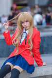 Cosplayer from School Uniform Stock Photography