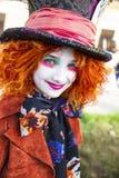 Cosplayer von Alice in Wonerland stockfotografie