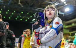 Cosplayer at Yorkshire Cosplay Con. Stock Photography
