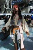 Cosplayers που φορά τα κοστούμια και τα εξαρτήματα μόδας σε Anime Exp Στοκ εικόνες με δικαίωμα ελεύθερης χρήσης