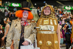 Cosplayers en la estafa de Yorkshire Cosplay Fotos de archivo