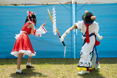 Cosplayers Stock Photography