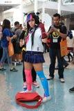 Cosplayers jest ubranym kostiumy i mod akcesoria przy Anime Exp Zdjęcie Stock