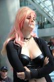 Cosplayers jest ubranym kostiumy i mod akcesoria przy Anime Exp Obrazy Royalty Free