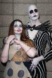Cosplayers a Long Beach comica e l'imbroglione di orrore, centro di convenzione di Long Beach, Long Beach, CA 10-30-11 Immagini Stock Libere da Diritti
