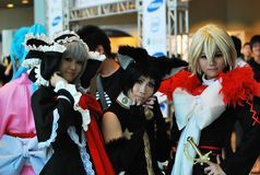 Cosplayers Royalty Free Stock Photos