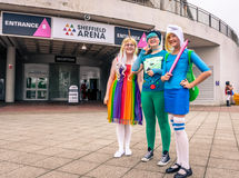 Cosplayers at the Yorkshire Cosplay Convention Royalty Free Stock Photo