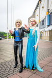 Cosplayers at the Yorkshire Cosplay Convention Stock Images