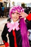 Cosplaymeisje in Tokyo Royalty-vrije Stock Foto