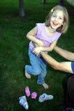 Cosquillee mis calcetines de 2 Fotografía de archivo libre de regalías