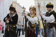 Cossack Imagenes de archivo