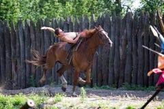 Cossack festival, Khortytsya, Ukraine. Stock Photo