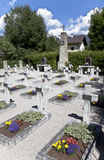 Cossack graveyard in Peggetz, Lienz, Austria Stock Photos