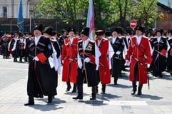 Cossack parade Royalty Free Stock Photos