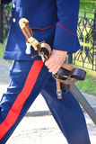 Cossack saber Royalty Free Stock Photo